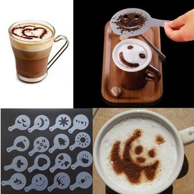 Výsledok vyhľadávania obrázkov pre dopyt 16pcs coffee art
