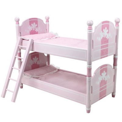 18 Inch Doll Bunk Bed Doll Bedding Ladder Doll Furniture Fit For 18 Inch American Girl Doll Be