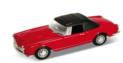 Qoo Alfa Romeo Spider Soft Top Red By Welly - Alfa romeo spider soft top