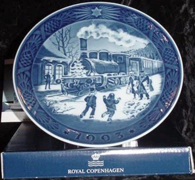 Royal Copenhagen Christmas Plates.1993 Royal Copenhagen Christmas Plate New In Box Scarce