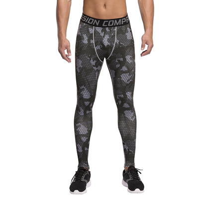 fd86beec53c77e Qoo10 - 1Bests Mens Camouflage Sports Compression Pants Basketball Running  Tig... : Athletic & Outdo.