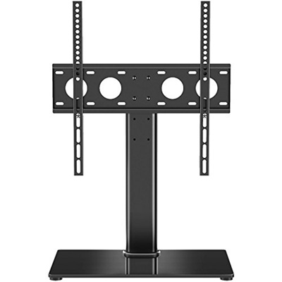Qoo10 1homefurnit Tabletop Pedestal Bracket Tv Stand Swivel Height