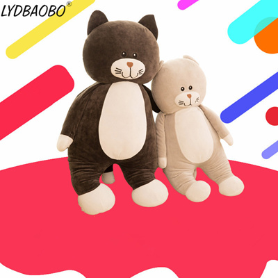 Pleasant 1Pc 60Cm Giant High Quality Cat Plush Doll Soft Sofa Pillow Cat Ainmal Toy Doll Kid Cat Toy Children Interior Design Ideas Inesswwsoteloinfo