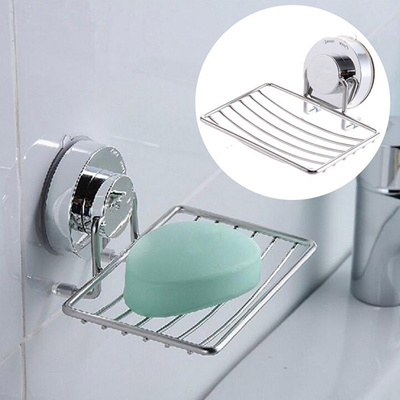 Qoo10 1pc Bathroom Shower Soap Shampoo Holder Aluminum Space Bath