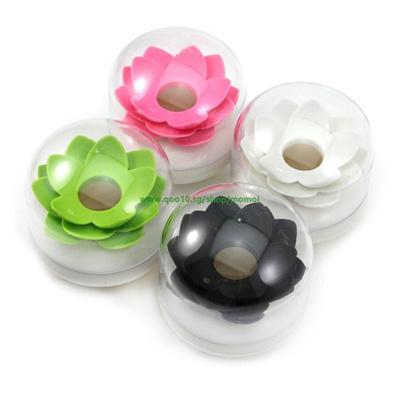 c77285380c1 Qoo10 - 1Pc Fashion Lotus Flower Cotton Swab Box Lotus Cotton Bud Holder  Base ... : Furniture & Deco