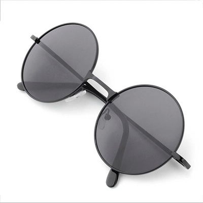 9ae083c8fd1 Qoo10 - 1pc Vintage Retro Men Women Round Metal Frame Sunglasses Glasses  Eyewe...   Fashion Accessor.