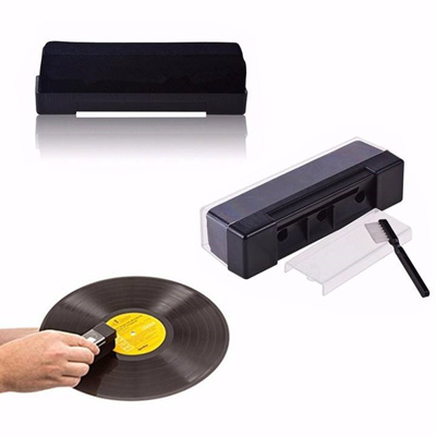 Vinyl Record Cleaning Kit Carbon Fiber Anti Static Brush Clean Cleaner Remover