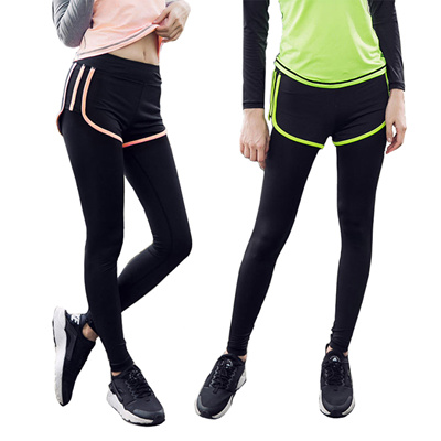 9e47501f59910c 2 in 1 Women Training Tights / Sports pants / Yoga Pants / Ladies Sports [