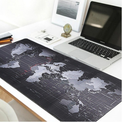 Qoo10 2 size anti slip world map speed game mouse pad mat laptop 2 size anti slip world map speed game mouse pad mat laptop gaming mousepad gumiabroncs Images