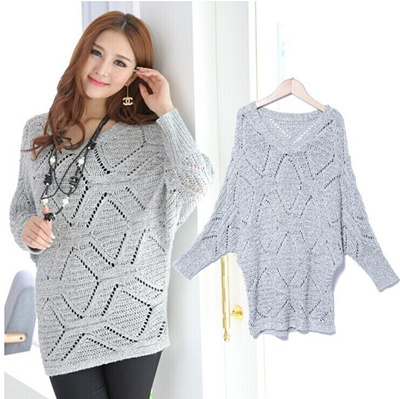 2014-2015 Christmas gift frozen Long Sleeve Winter Influx of Europe Korean  Cardigan Sweater Coat 550262715