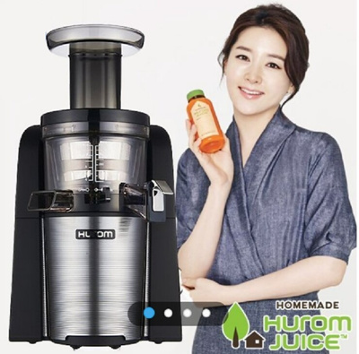 Slow Juicer 43 Rpm : Qoo10 - 2015 NEW Hurom 2nd Generation 43RPM Premium Slow Juicer Smootie Maker ... : Home Electronics