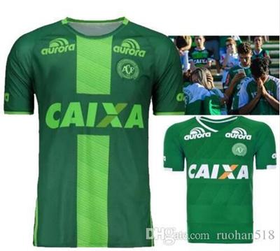 3ffc3e59026 2016 2017 Brazilian Chapecoens fc football Chapecoense AF soccer jerseys  2017 Chapecoens away green