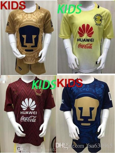 54323d63 Qoo10 - 2016 2017 LIGA MX Mexico Club America kids Soccer Jerseys O.PERALTA  SA... : Sports Equipment