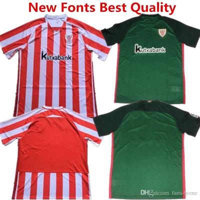 official photos cc706 d5fa1 2016 2017 Shirts Athletic Bilbao Soccer Jersey Athletic Club de Bilbao  Camisetas Futbol DE MARCOS Re