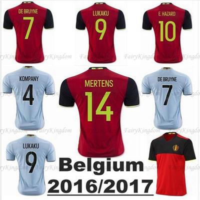 155248fce9d ... 2016 belgium soccer jersey home away belgium football shirts northern  ireland jerseys football
