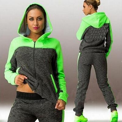 Qoo10 - 2016 Brand Tracksuit Women Sport Suit Hoodie Sweatshirt+Pant  Jogging F...   Women s Clothing f887835fc4