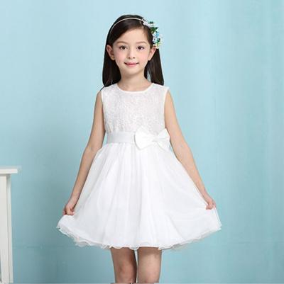 461e736b1a7f Qoo10 - Cotton Girl Dress   Kids Fashion