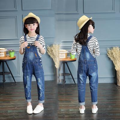 e81e3b9cb21 Qoo10 - 2016 new children  s clothes girls denim romper summer children 6-8...    Kids Fashion