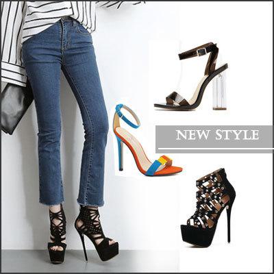 qoo nouvelle mode chaussures haute qualité talons / rivet chaussures mode chaussures e6768d