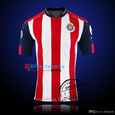 new products ba751 ed962 2016 Soccer Jersey Chivas Guadalajara soccer jerseys camisetas de futbol  Chivas Pink 110 Year commem