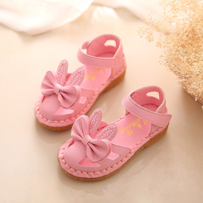 66ee9aa3bdf3 Qoo10 - 2016 Summer Korean girls shoe Sandals shoes baby shoes child  Princess ...   Kids Fashion