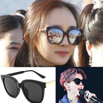 f442f648fc Qoo10 - 2016 sunglasses woman sunglasses 2017 new bold look round in South  Kor...   Fashion Accessor.