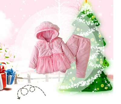 Qoo10 2017 Baby Winter Clothes 0 1 Years Old Baby Cotton Suit