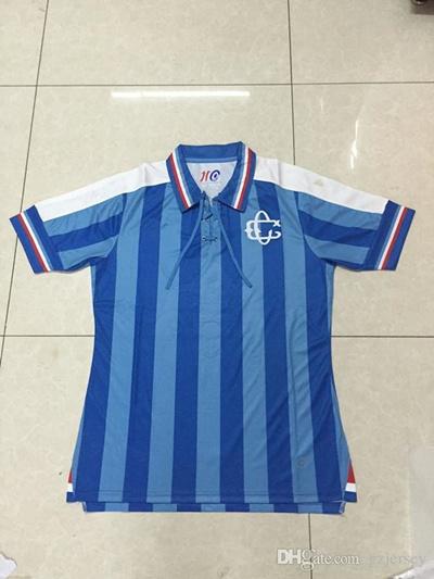 low priced e0a3b d8034 2017 Chivas 110 anniversary blue soccer jersey T-shirts 16-17 chivas  bluesoccer jersey Chivas 110 an