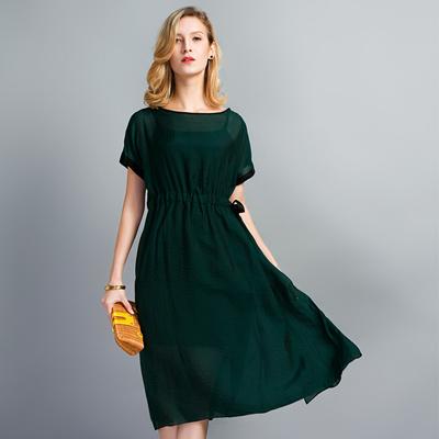 Qoo10 Silk Dress Womens Clothing