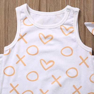 7d4ad05373dd Qoo10 - 2017 Fashion Newborn Baby Girl Clothes Summer Sleeveless ...