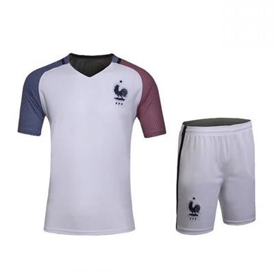 Qoo10 - 2017 Men s New France National Team Training Wear Football Jersey  Shor...   Women s Clothing 3c01e1b53f8e
