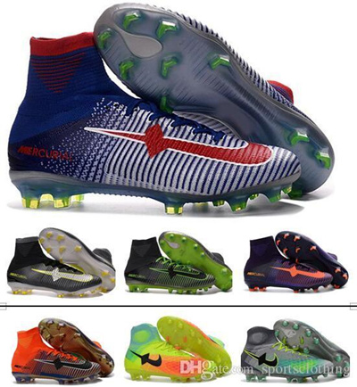 cheap for discount 72f60 6daa2 2017 Mens Kids CR7 Mercurial x EA SPORTS Superfly Soccer Shoes Magista Obra  Boys Soccer Cleats Wom