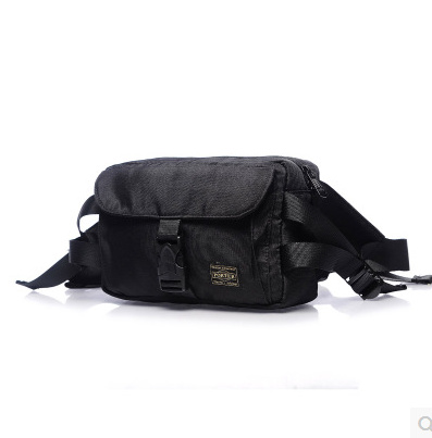 2017 new Japan Yoshida porter nylon waterproof pockets chest mens chest bag  men bag shoulder bag f46f4177ff8dc
