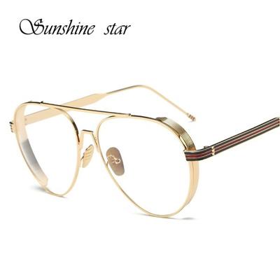 Qoo10 - 2017 Plain Eyeglass Frames Vintage Eye glasses Clear lens ...