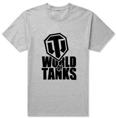 b3724b5e3 2017 Summer Style Funny World Of Tanks T Shirt Men Manufacture World War Ii  Tank T