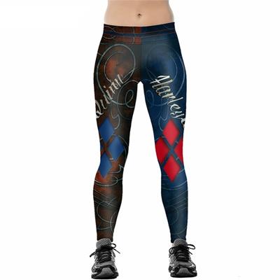 d3dee2cac Qoo10 - 2017 Women Leggings Harley Quinn Leggings High Waist Yoga Fitness  Slim... : Women's Clothing