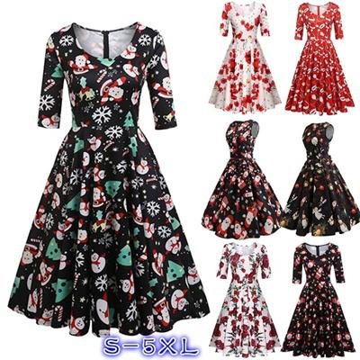 2d2ee1aac 2017 Women s Half Sleeve Swing Dress Flower Print A Line Tea Pleated Dress  S~