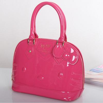 832db4f50 Qoo10 - 2018 hello kitty bag leather women female tote designer shell  handbags... : Bag & Wallet