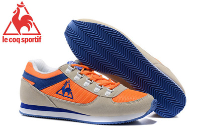 finest selection 223c5 7f381 2018 New Arrivals Le Coq Sportif Mens Running Shoes,Classics Mens Sports Shoes  Orange Size