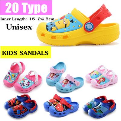 ce248ad6d114 Qoo10 - 2018 New Cartoon Summer Kids Sandals | Beach shoes | Antiskid and  wear... : Kids Fashion