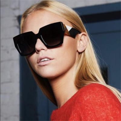 72a3f1eccc Qoo10 - 2018 New Oversized Square Sunglasses women Men luxury Sun glasses  lady...   Fashion Accessor.