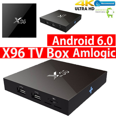 【2018 TV Box】Smart Android 7 1 TV BOX X96 mini Amlogic S912 S905W RK3328  CPU WiFi Digital Bluetooth