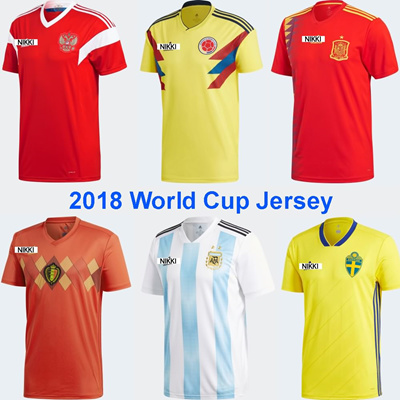 Fifa World Cup 2018 Jerseys