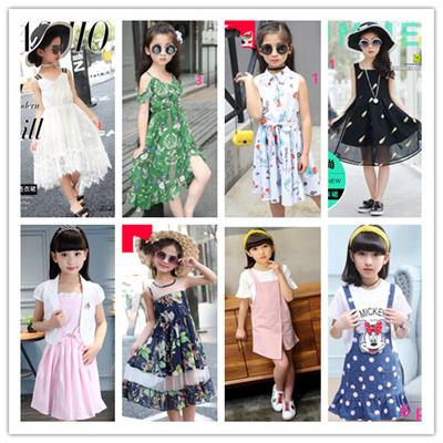 2019 \u203b\u203bGood Quality teenage girl dress/kids clothes /kids clothing/kids  wear/school wear 1