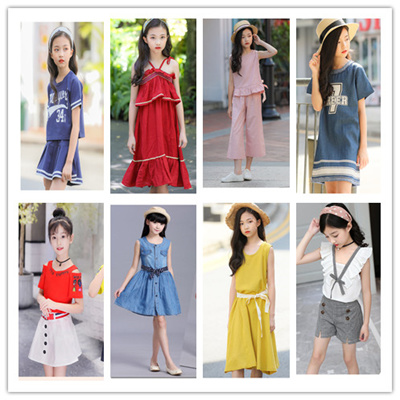 8e345090484 2019❤ NEW ARRIVAL Good Quality Girls clothes Teenage Girls Dresses Girls  Clothes