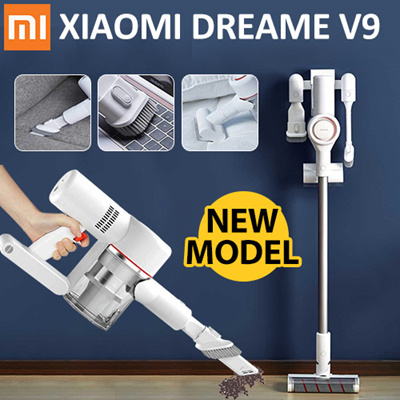 qoo10 2019 xiaomi dreame v9 vacuum cleaner handheld cordless stick sports equipment. Black Bedroom Furniture Sets. Home Design Ideas