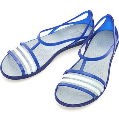 d01b61aad800 Qoo10 -  202465 4O5  CROCS ISABELLA SANDAL CERULEAN BLUE   Men s Bags    Shoes