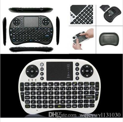 20X Wireless Keyboard rii i8 mini keyboards Fly Air Mouse Multi-Media  Remote Control Touchpad Hand