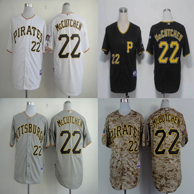 new style e73f7 67ea6 22 Andrew McCutchen Jersey Pittsburgh Pirates Jersey Baseball Jersey Sports  Jerseys Embroidery Logos