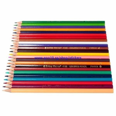 24 Colors Professional Drawing Pencils Set for Artist Writing Sketching